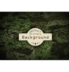 Camouflage grunge military pattern background vector