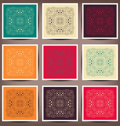 Vintage decorative elements vector