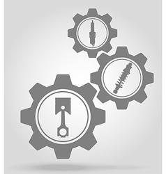 Gear mechanism concept 11a vector