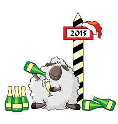 sheep alko vs vector image vector image
