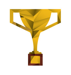 Trophy victory winner american football abstract vector