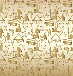 Egyptian seamless pattern background wallpaper vector
