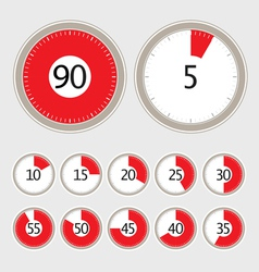 Timer collection vector