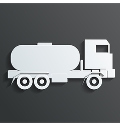 Tanker trucks vector