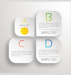 Business web concept vector
