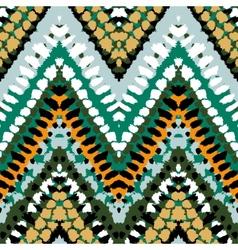 chevron pattern vector image vector image
