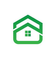 Home building icon logo image vector