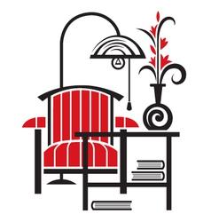 armchair vector image