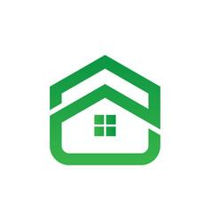 Home building icon logo image vector