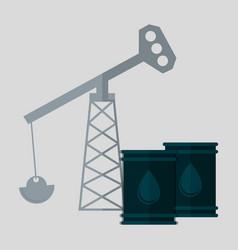 Oil barrel petroleum icon image vector