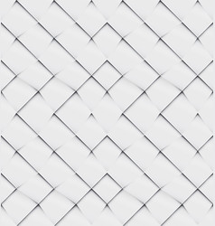 patchwork seamless white origami pattern vector image vector image