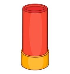 Shotgun shell iconcartoon style vector image vector image
