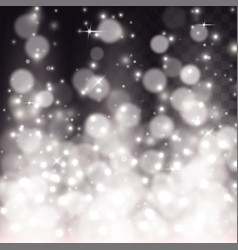 white light effect of particles vector image