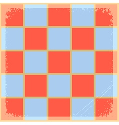 Background in chessboard vector
