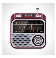 vector radio xxl icon vector image