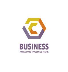 Best letter c logo concept vector