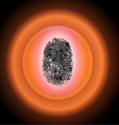 Security Scan vector image