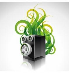 speaker vector image vector image
