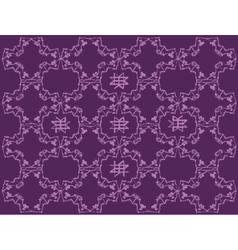 Doodle decorative geometric pattern vector