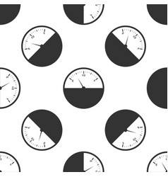Fuel gauge icon seamless pattern vector