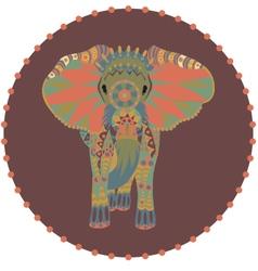 Stylized elephant vector