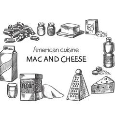 American cusine vector