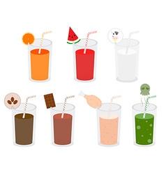 beverage variety vector image