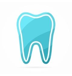 Dentist logo Tooth icon vector image vector image