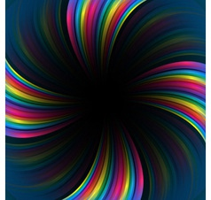 Rainbow colorful background vector image vector image