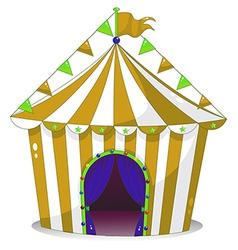 A big circus tent vector image