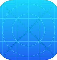 App icon template vector