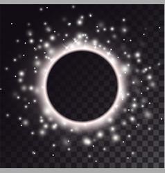 Black hole light effect vector