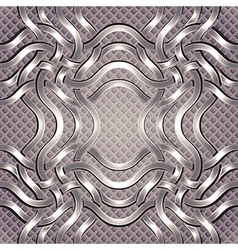 luxury seamless pattern vector image
