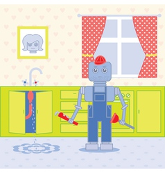 Plumber robot1 vector