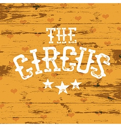 The Circus vector image