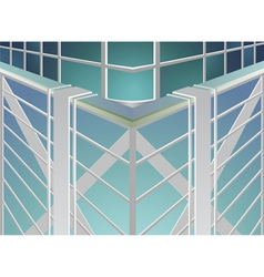 Skyscraper abstract background vector