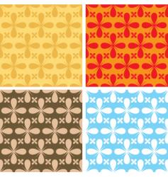 bloat repeat pattern vector image vector image