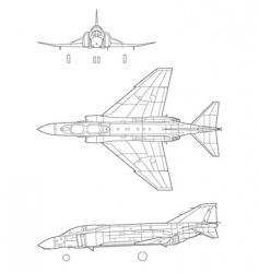 F4 phantom vector