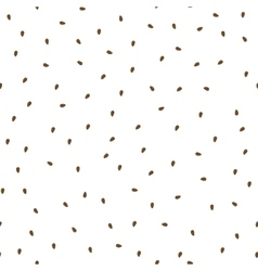 Flaxseeds seamless pattern packaging background vector