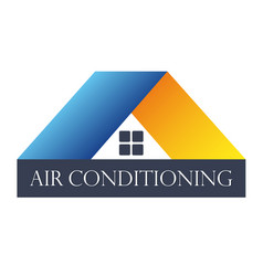 Home air conditioner vector