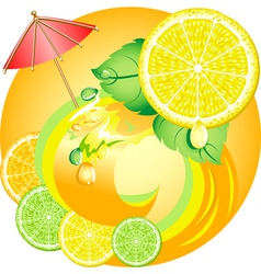 Citrus ecology vector