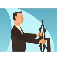 Management business conceptual with vector