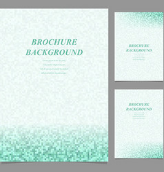 Abstract page template background set vector