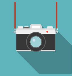 Camera icon flat design vector