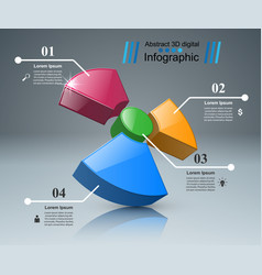 radiation business infographics vector image