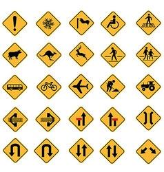 traffic 02 vector image