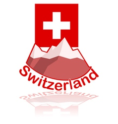 Switzerland icon vector