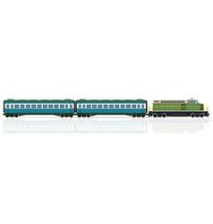 railway train 21 vector image