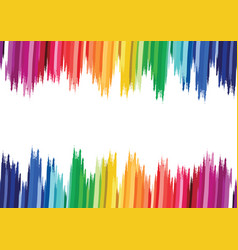 abstract colorful striped background vector image