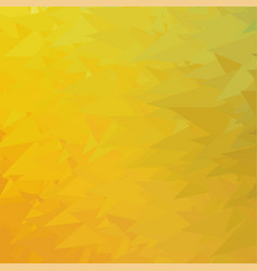 abstract yellow triangle background vector image vector image